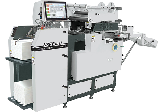 Therm-O-Type NSF Excel Digitaldruckstanzmaschine